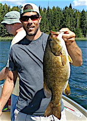 Super Trophy Smallmouth Bass Fishing at Fireside Lodge